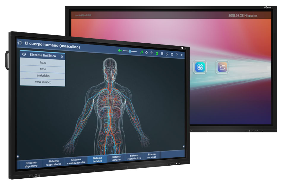 Interactive display multiCLASS Touch Screen
