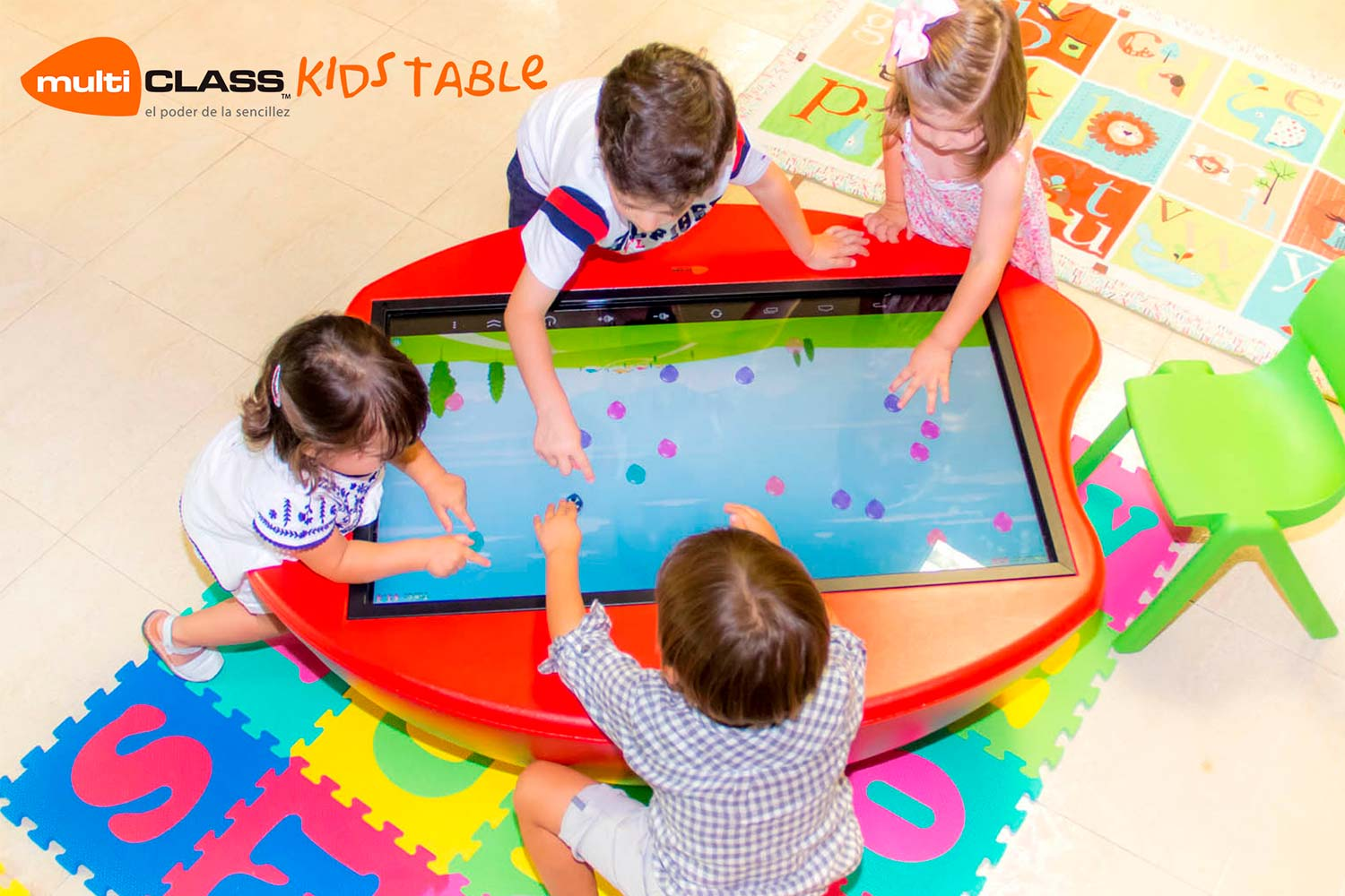 Mesa táctil interactiva infantil multiCLASS Kids Table educacion