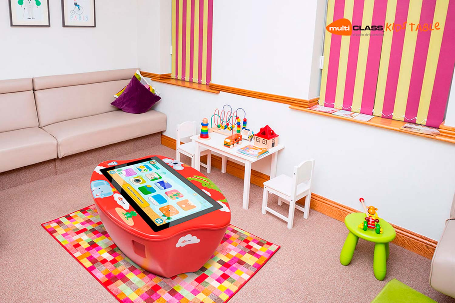 Mesa táctil interactiva infantil multiCLASS Kids Table Kids Corners
