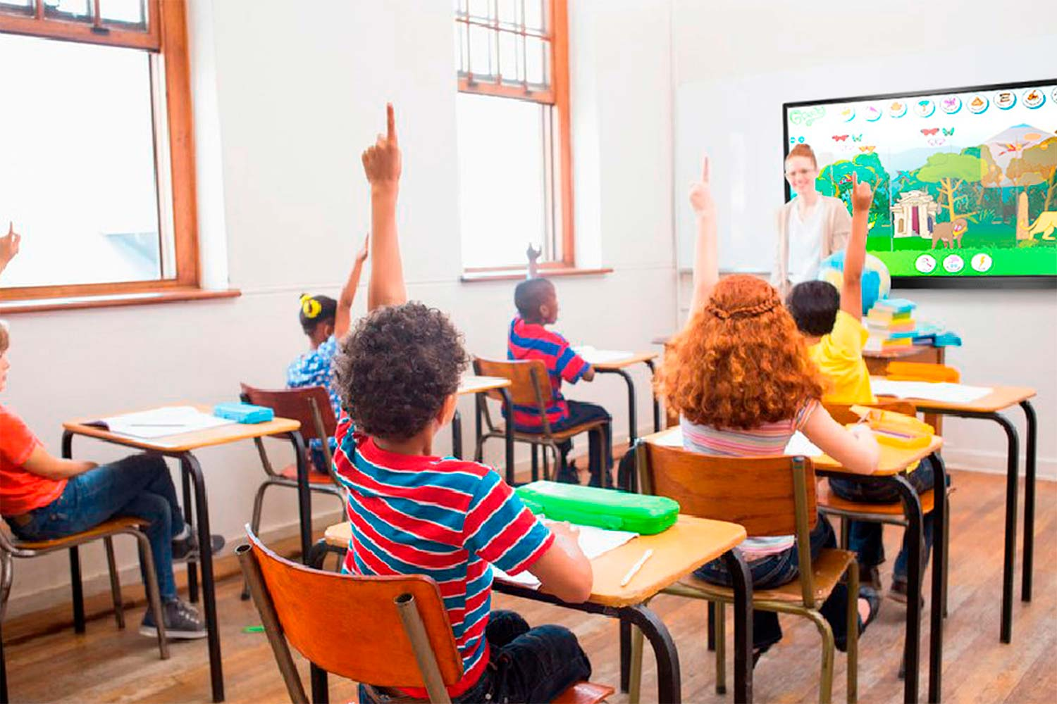 Pantalla táctil interactiva multiCLASS Touch Screen Educación